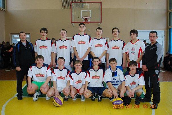 баскет-команда хлопців ЗОШ №3